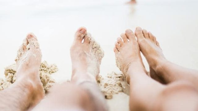 This $2 hack for getting rid of sand off your feet is bloody brilliant