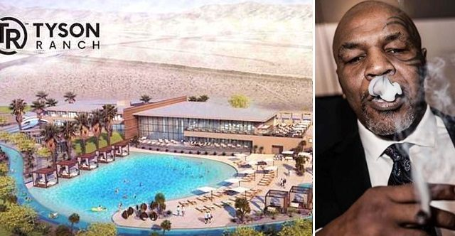 MIke Tyson is building a 407-acre weed holiday resort