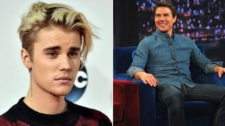 Justin Bieber has challenged Tom Cruise to a fight in the octagon