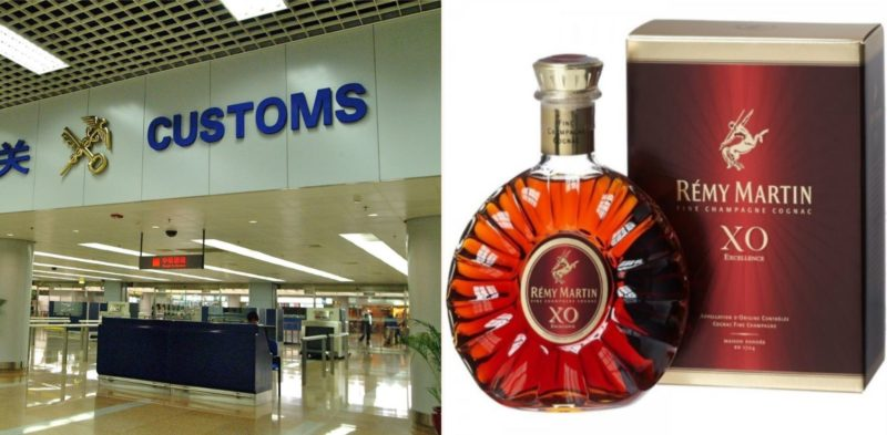 A sheila chugged an entire bottle of Cognac rather than hand it to airport security