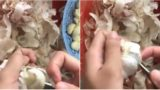 This garlic peeling life hack has people on internet freaking out
