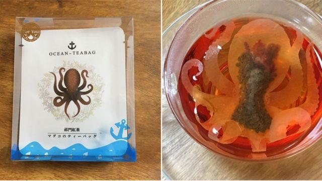 Japanese company has created teabags that come alive in your cup