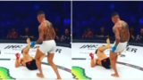 Bloke in MMA fight gets penalized for illegal 'butthole' kick