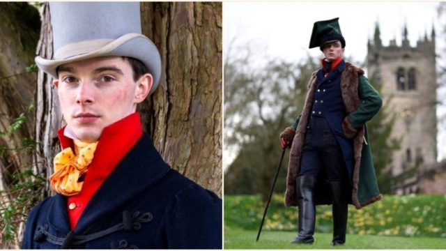 Bloke identifies as being from the 1820s and only dresses from that era