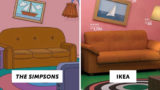 IKEA has recreated several famous TV living rooms using only in-store products