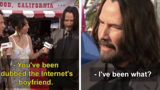Keanu Reeves reacts to finally finding out that he is the 'Internet's boyfriend'