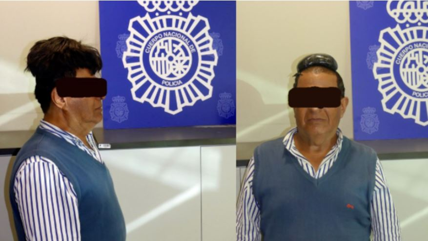 Bloke tries to smuggle drugs under his wig