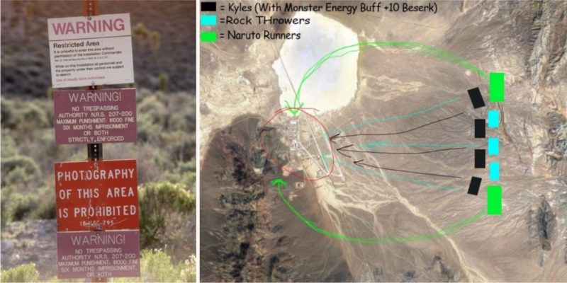 A group of over 500,000 people are planning to storm Area 51