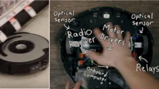 Someone hacked a Roomba to shout profanities when it bumps into things