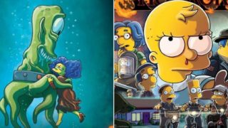 Simpsons set to parody Stranger Things in Treehouse of Horror Special