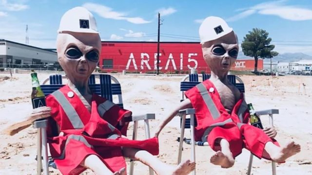 Las Vegas venue is set to live stream 'Area 51' raid so everyone can join in