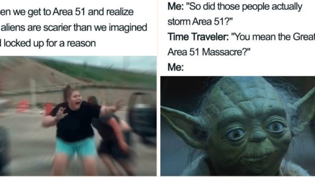 Some of the best Storm Area 51 memes on the internet