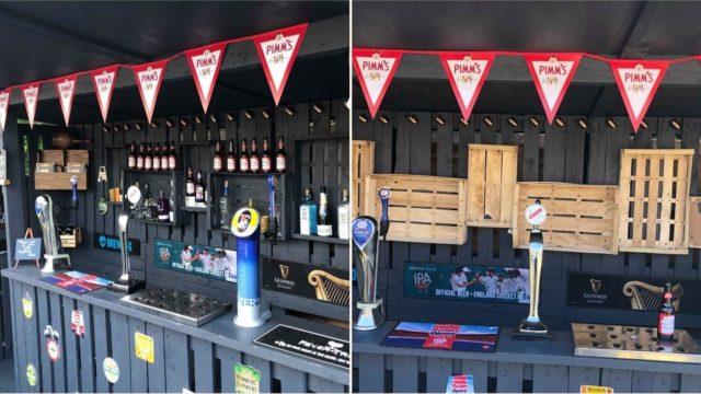 Bloke built a bloody ripper backyard bar for just over $100