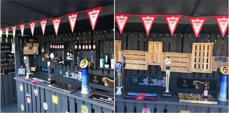 Bloke built a bloody ripper backyard bar for just over $100