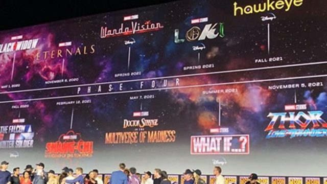 Marvel's 'Phase 4' lineup of new movies looks bloody legendary