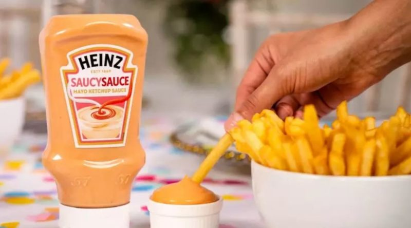 Heinz has launched a new Mayo-Ketchup hybrid called 'SaucySauce'