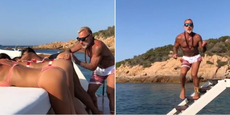 Just another day in the life of Italian millionaire Gianluca Vacchi…
