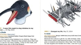 Some of the most hilarious Amazon Reviews ever written