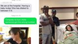 Family accidentally text baby news to strangers, stunned by result