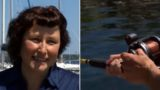 Sheila catches fish with two mouths!