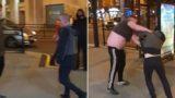 """Bloke uses dead pigeon in Liverpudlian street """"fight"""""""