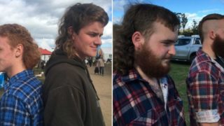 Mullets are making a bloody comeback