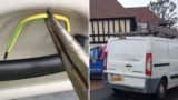 Electrician wires his van to give tool thieves 1000 volt shock