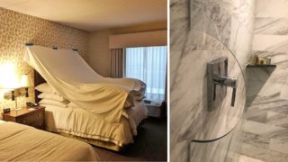 A bunch of examples of hotels going above and beyond with their creativity