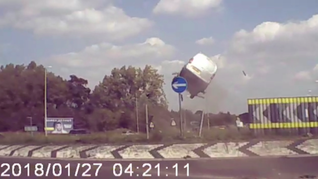 Bloke gets banned from driving after 'Dukes of Hazzard' style stunt