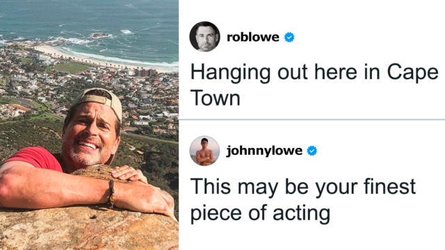 Rob Lowe's sons are trolling him on Instagram and it's bloody gold