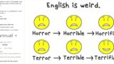 These examples show just how f*@*en dodgy the English language is