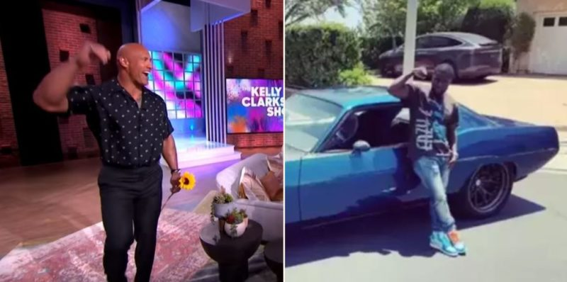 The Rock trolls Kevin Hart in update after accident