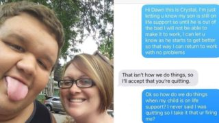 Mum asks for time off when son is put on life support, manager's response causes outrage