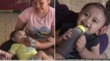 Mum forced to feed baby 1.5L of coffee per day