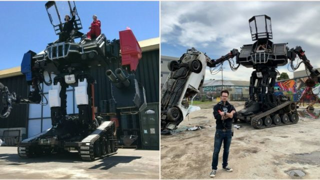 MegaBots' 15-foot battle robots are up for sale on eBay!