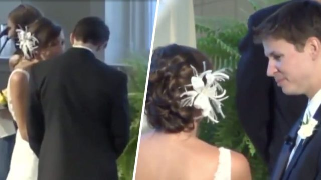 Bride revealing news about her 'big dump' at wedding has attracted millions of views