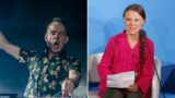 "Fatboy Slim mixes Greta Thunberg's UN speech into ""Right Here, Right Now"""