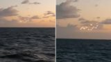Video of UFO siting out on the ocean has racked up sh***oads of views