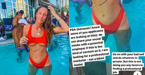 "Company tries to ""slut-shame"" job candidate for Instagram post, blows up in their face beautifully"