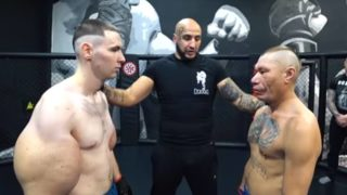 """Russian Synthol kid known as """"Popeye"""" made his MMA debut and it didn't go well"""
