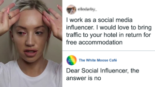These Social Media 'Influencers' cop exactly what they deserve
