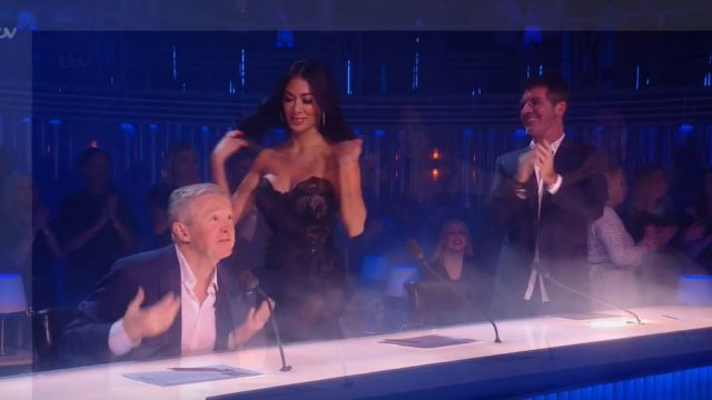 The internet went crazy after this 'motorboat' happened live on X-Factor
