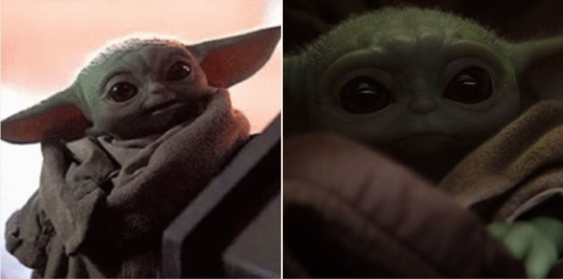 Baby Yoda has appeared on 'The Mandalorian' and he's bloody adorable