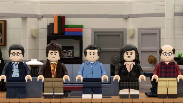 A Seinfeld branded Lego set could be released and we're bloody excited