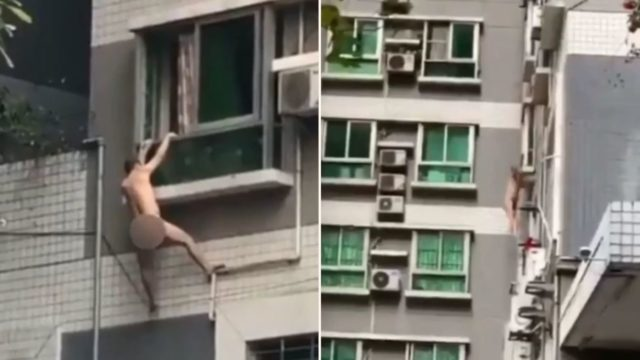 Bloke falls to Destination F**ked after married woman's husband came home