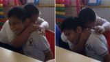 Video of Boy with Down Syndrome comforting his Autistic Friend viewed millions of times
