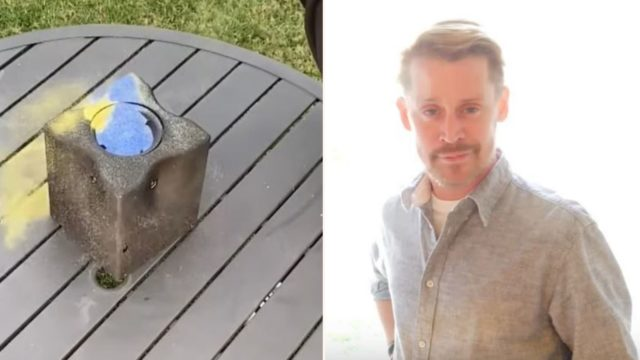 The Glitter Bomb is back and this time Macaulay Culkin's on board to make it better than ever!