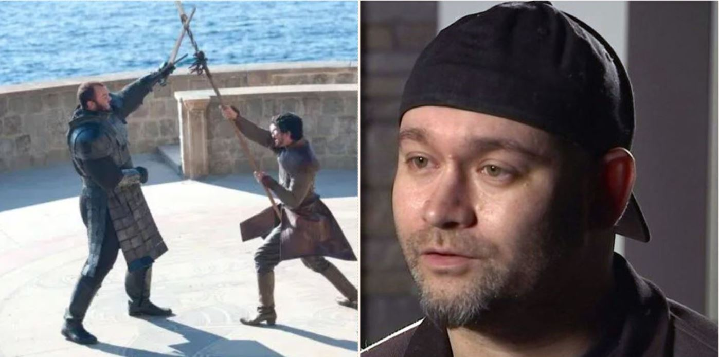 Bloke demands trial by combat in custody battle over children