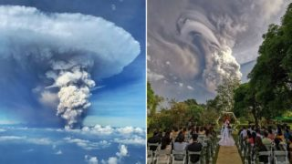 These images of the deadly Philippines volcano are unbelievable