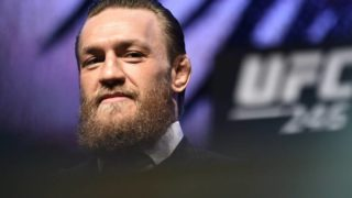 Conor McGregor has shown off his new 'polite side' during latest fight build up